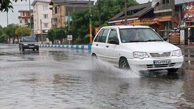 حجم بارشهای ایران