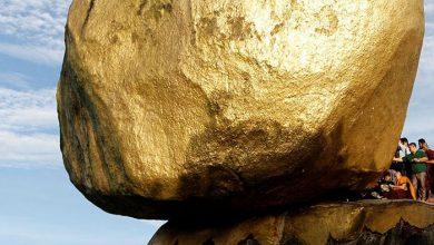 سنگ طلایی