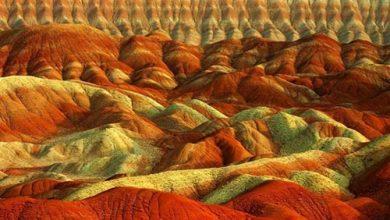 تپه های مریخی