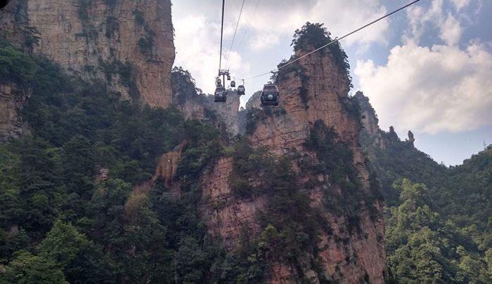 تله کابین در چین
