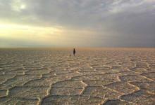 دریاچه نمک حاجعلیقلی دامغان