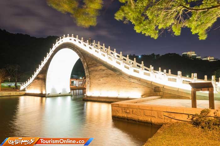 پل «هلال ماه» در پارک داهو
