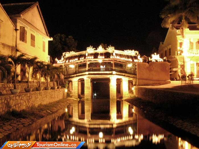 پل ژاپنی در شهر ویتنامی -Hoi an