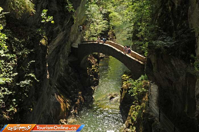 پل دره ای آرز در سوئیس