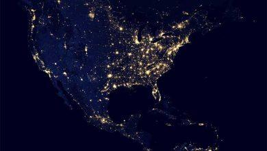 شب زمین
