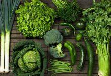 سبزیجات برگ سبز