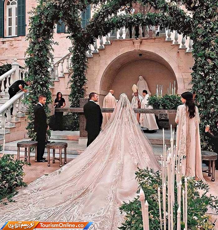 مراسم عروسی پسر الی صعب
