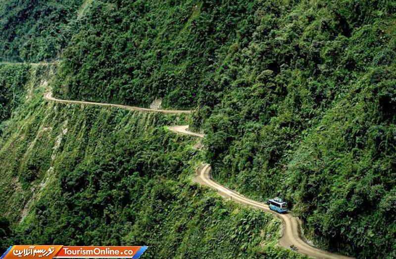 خطرناک ترین جاده