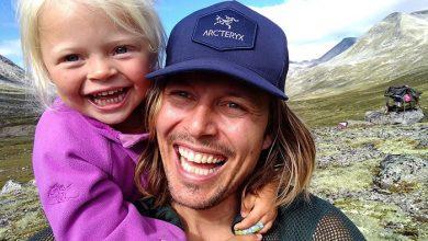 پدر و دختر در سفر