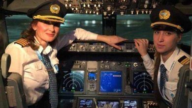 خلبانان زن