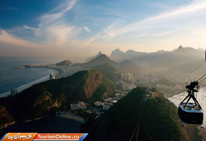 تله کابین ریو د ژانیرو در برزیل