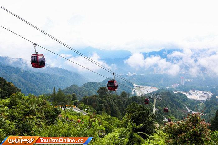 تله کابین در مالزی