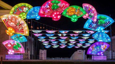 جشنواره فانوس های چینی