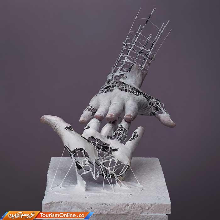مجسمه سیمی
