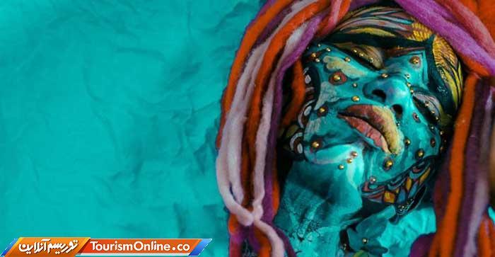 نقاشی صورت و بدن