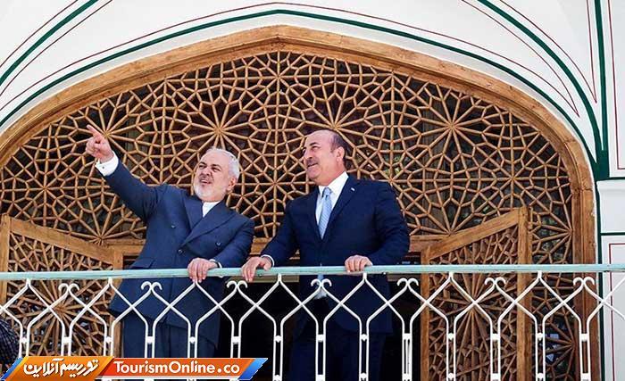 وزرای خارجه ایران و ترکیه