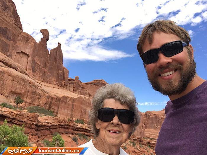 مادربزرگ جهانگرد