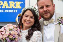 مراسم ازدواج یک زوج