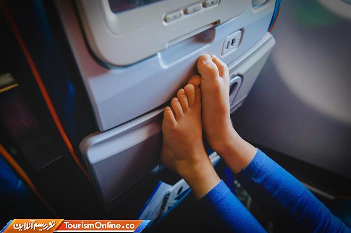 رفتارهای آزاردهنده در هواپیما