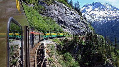 راه آهن گذرگاه سفید و مسیر یوکان