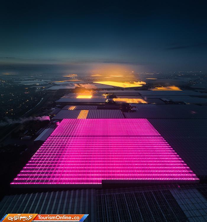 گلخانه های LED