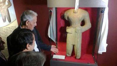مجسمه سردار ساسانی
