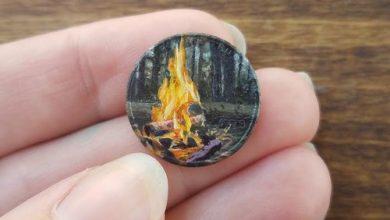 نقاشی روی سکه