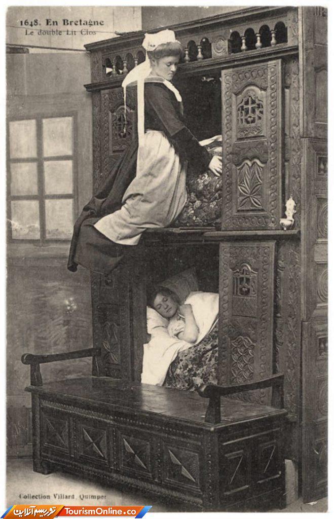 تختخواب جعبه ای