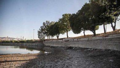 خشک شدن دریاچه