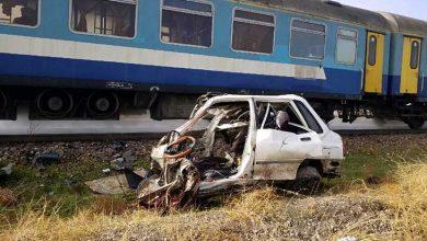 برخورد مرگبار قطار