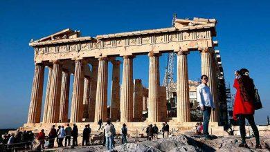 گردشگران خارجی یونان