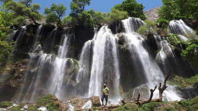 آبشار زردلیمه چهارمحال و بختیاری