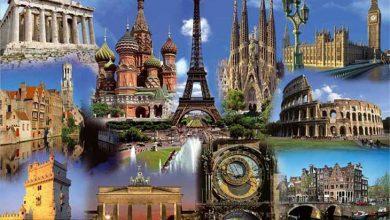 اروپا گردشگری