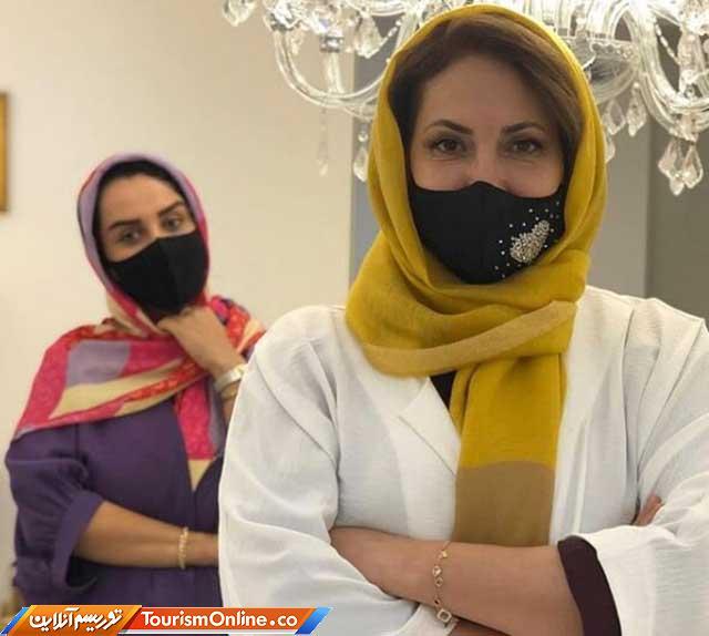 ماسک فاطمه گودرزی