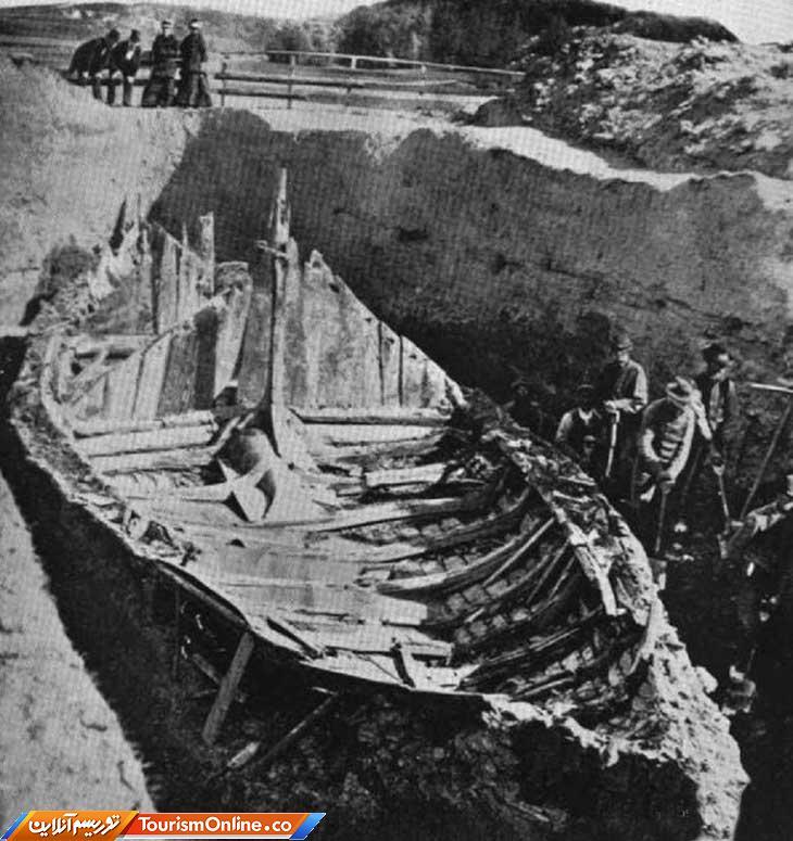 قایق باستانی ایرلند