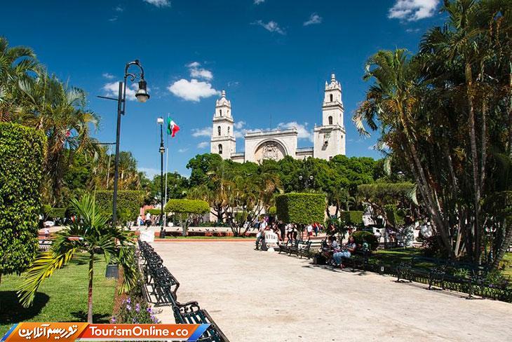 مریدا شهر سفید مکزیک