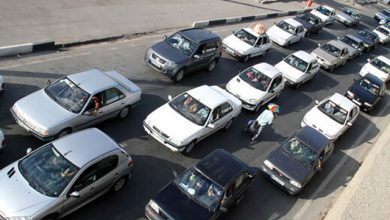 ترافیک محور کرج چالوس