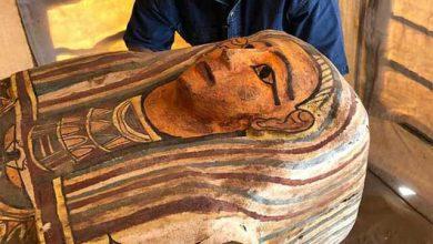 تابوت 2500 ساله مصر
