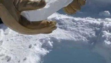 یخ 9 اینچی قطب جنوب