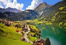 مناظر دیدین کوه های آلپ سوئیس