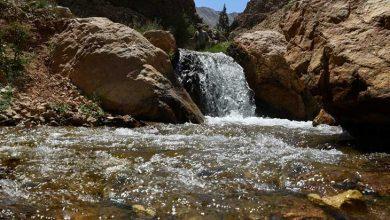 آبشار مجن استان سمنان