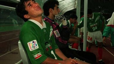 خداداد عزیزی فوتبال