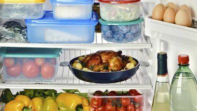 گرم کردن غذای مانده