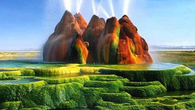 مکان های طبیعی عجیب و غریب جهان