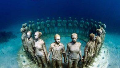 پارک مجسمه زیر آب فرانسه