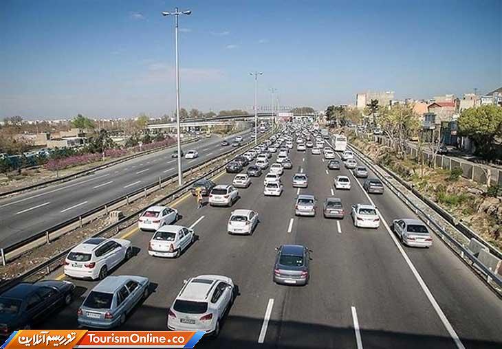 وضعیت ترافیکی جاده