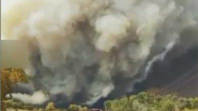آتش سوزی شدید ایالت کلرادو