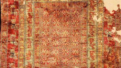 کهن ترین قالیچه جهان