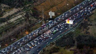 جاده های شمال تهران