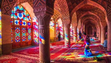 مسجد صورتی شیراز